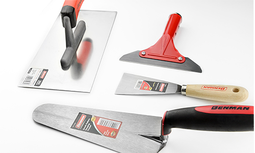 Taping Knives - Trowels - Hand Sanders